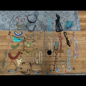 ALL THESE NECKLACES